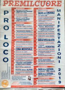 Calendario eventi Premilcuore @ Premilcuore (FC)