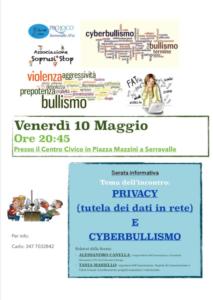 Serata Informativa - Privacy e Cyberbullismo @ Serravalle (FE)