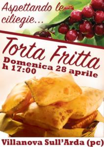 Aspettando le ciliegie...Torta Fritta @ Villanova sull'Arda (PC)