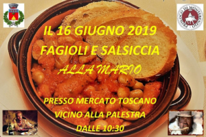 Fagiolata alla Mario e Mercato Toscano @ Monterenzio BO