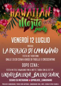 Hawaiian Mojito Party @ Camugnano (BO)