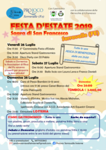 Festa d'Estate 2019 @ Serravalle (FE)