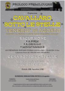 Cavallaro sotto le stelle @ Premilcuore (FC)