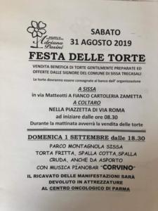 Festa delle Torte @ Sissa Trecasali PR