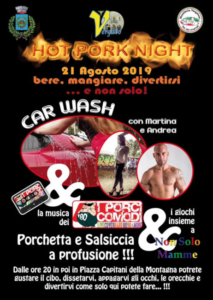 Hot Pork Night @ Vergato (BO)