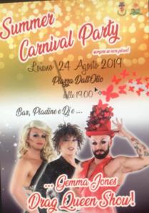 Summer Carnival Party @ Loiano (BO)