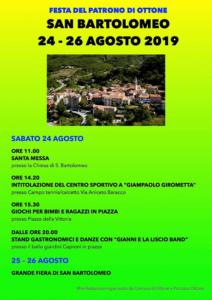 San Bartolomeo @ Ottone (PC)