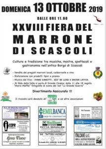 Fiera del Marrone di Scascoli @ Scascoli (BO)