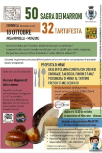 Sagra dei Marroni e Tartufesta @ Monzuno BO | Monzuno | Emilia-Romagna | Italia