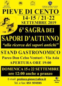 Sagra Sapori d'Autunno @ Pieve di Cento (BO)