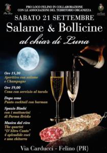 Salame & Bollicine al chiar di luna @ Felino (PR)