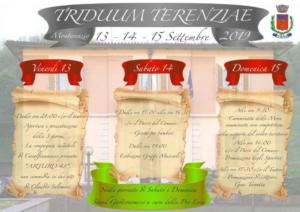 Triduum Terenziae @ Monterenzio (BO)