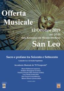 Offerta Musicale @ San Leo (RN)