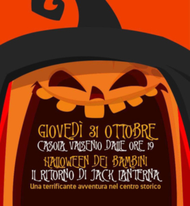 Halloween dei Bambini a Casola Valsenio @ Casola Valsenio (RA)