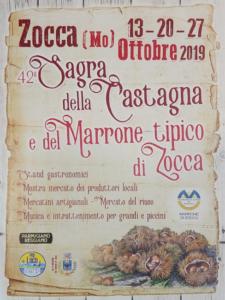 Sagra della Castagna e del Marrone tipico di Zocca @ Zocca (MO)