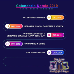 Calendario Natale 2019
