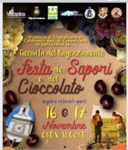 Festa dei Sapori e del Cioccolato @ Crevalcore (BO)