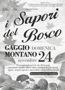I Sapori del Bosco @ Gaggio Montano (BO)