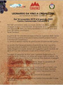 Mostra Leonardo a Crevalcore @ Crevalcore (BO)
