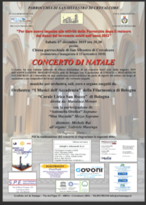 Concerto di Natale @ Crevalcore (BO)