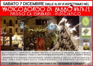 Magico Borgo di Babbo Natale @ Vidiciatico (BO)