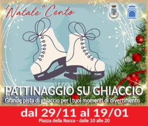 Natale a Cento - Pattinaggio su ghiacchio @ Cento (FE)