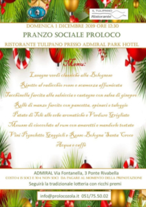 Pranzo Sociale Pro Loco @ Zola Predosa (BO)