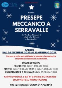 Presepe Meccanico a Serravalle @ Serravalle FE | Serravalle | Emilia-Romagna | Italia