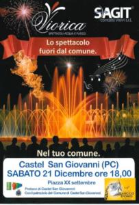 Lo spettacolo fuori dal comune @ Castel San Giovanni (PC)