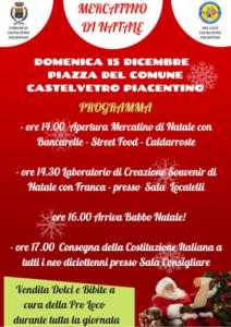 Mercatino di natale @ Castelvetro Piacentino (PC)