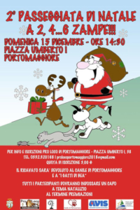 Passeggiata di Natale a 2, 4...6 zampe! @ Portomaggiore (FE)