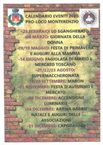 Eventi a Monterenzio @ Monterenzio (BO)