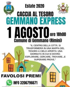 Caccia al Tesoro @ Gemmano (RN)