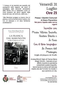 La Franca dal Maringòn @ Castel San Giovanni (PC)