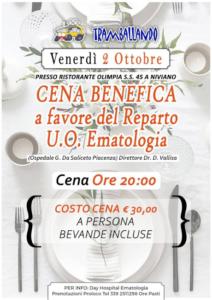 Cena Benefica @ Niviano (PC)