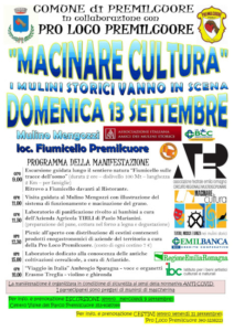 Macinare Cultura @ Premilcuore (FC)