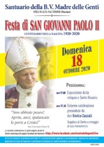 Festa di San Giovanni Paolo II @ Strà di Alta Val Tidone (PC)